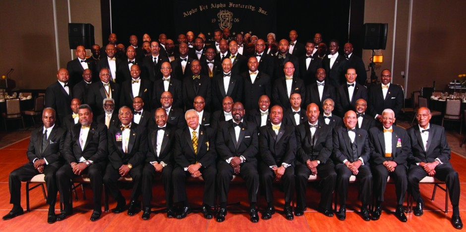 Xi Alpha Lambda Chapter @ the 2014 Black and Gold Ball