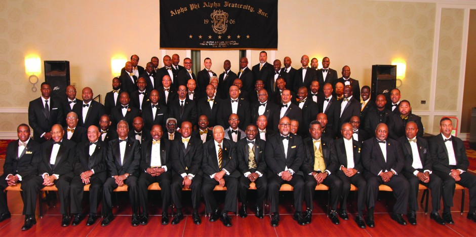 Xi Alpha Lambda Chapter @ the 2015 Black and Gold Ball